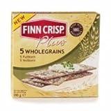 Finn Crisp Plus - Thin Crispbread - 5 Wholegrains - 190g