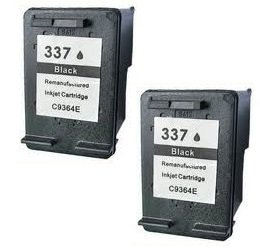 Prestige Cartridge HP 337 2 Cartucce d'Inchiostro Compatibile per Stampanti