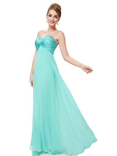 Ever-Pretty HE09568PP12–Robe pour femme Bleu clair