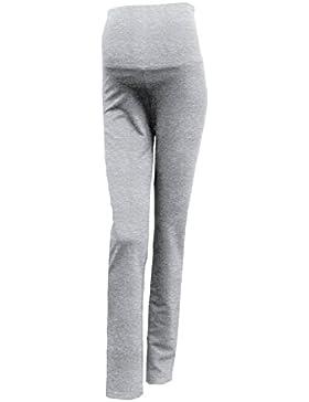 Mimosa Mujeres Embarazo Pantalones de Maternidad Yoga Ricos en Algodón Suaves y Ligeros