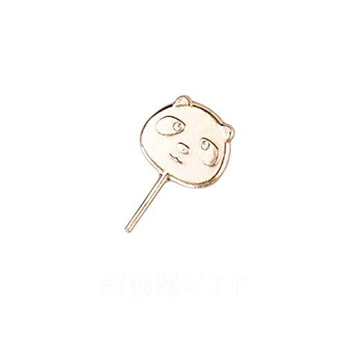CADANIA 8 Stück Panda Bettbezug Gripper Bettwäsche Tröster Bettbezug Halter Clips Clamp Fastener Kit Blatt Deckenhalter Set 02# -