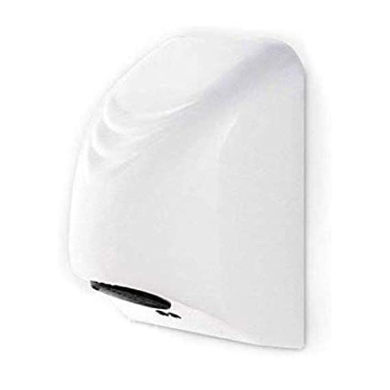 NI Mini-Automatic Hand Dryer (800 W, White)