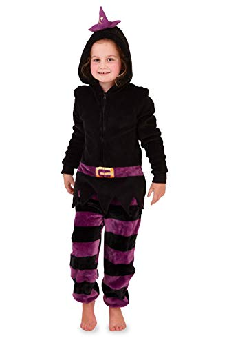 Loungeable, Damen Luxus 3D Neuheit Spooky Halloween Fancy Kleid Jumpsuit, 796-3d-halloween, 796-3D-HALLOWEEN