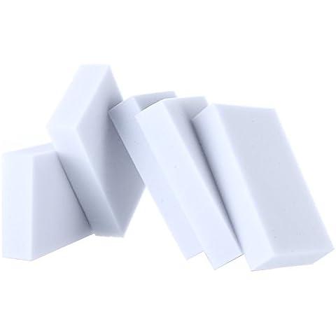 Wrone (TM) 100 piezas / paquete de Herramientas de limpieza del hogar limpiador m¨¢gico de la esponja melamina del borrador del limpiador 100x62x20mm gris