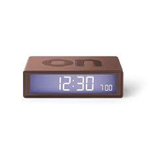 Lexon, Despertador, Flip marrón