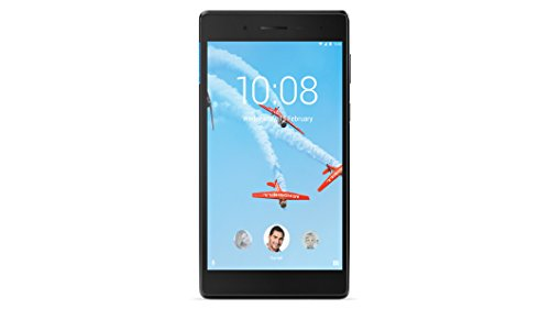 Lenovo TAB 7 Essential- Tablet de 7' IPS (Procesador Quad-core MTK, RAM de 1GB, memoria interna de 8GB de eMMC, Camara de 2MP, Sistema Operativo Android 7.1, WiFi + Bluetooth 4.0) color negro
