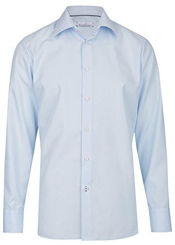 Einhorn Herren Hemd Modern Fit Jamie hellblau 854.11305 21, Größe 43