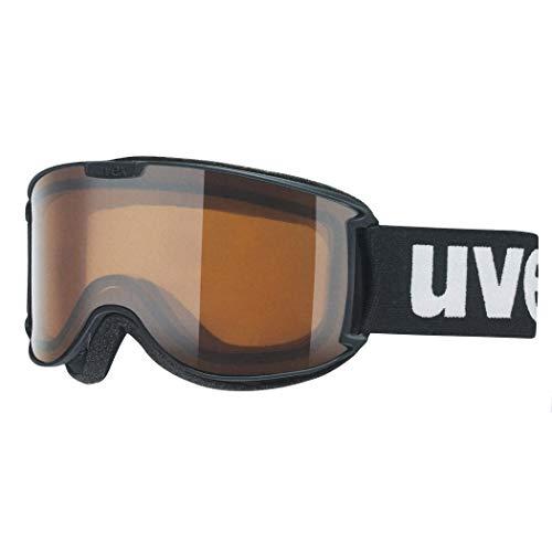 Uvex Unisex-Erwachsene skyper P Skibrille, schwarz, one Size