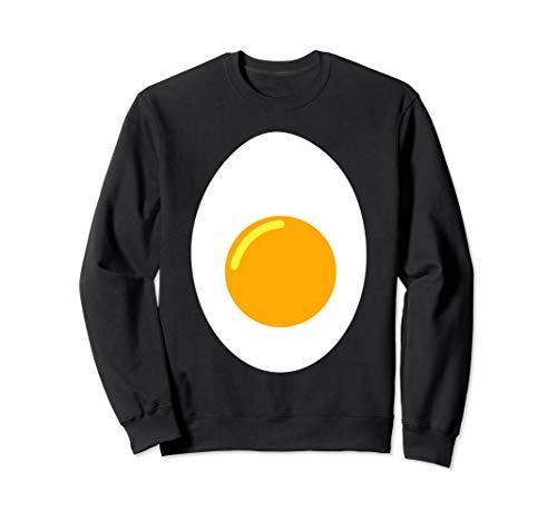 Kostüm Schwanz Teufel - Deviled Egg Halloween-Kostüm Add Teufel Hörner und Schwanz Sweatshirt