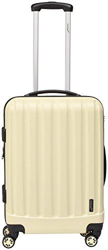 Packenger Kofferset - Velvet - 3-teilig (M, L & XL), Cafe-au-Lait, 4 Rollen, Koffer mit TSA- Schloss und Erweiterungsfach, Hartschalenkoffer (ABS) - 5