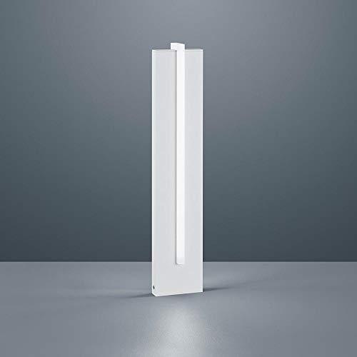 Helestra LED Außenstandlampe Oki IP54 2805lm Mattweiß