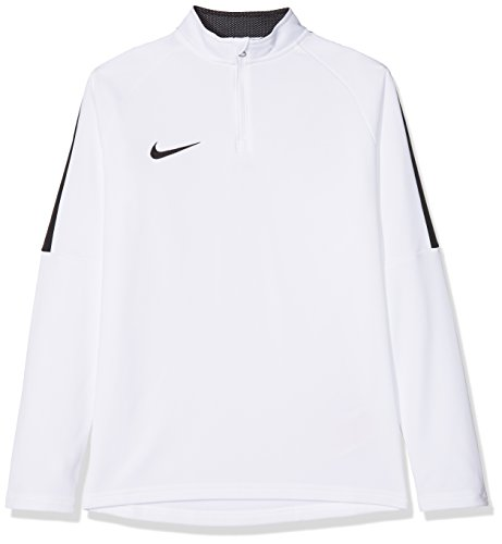 Nike Kinder Dry Academy 18 Drill Longsleeve, White/Black, XL -