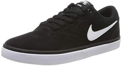 Nike Herren SB Check Solarsoft Skateboardschuhe, Schwarz (Black/White 001), 43 EU