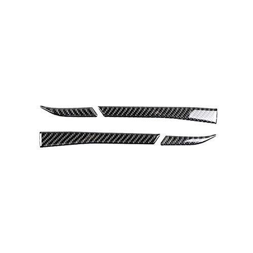 Demarkt Carbon Fiber Rückspiegel Anti-Rub Streifen Schutz für Mustang 2015-2017 -