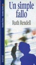 Un simple fallo par Ruth Rendell