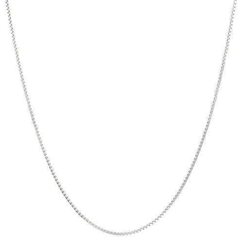 STROILI Schmuck–Halskette aus Silber 925rhodiniert