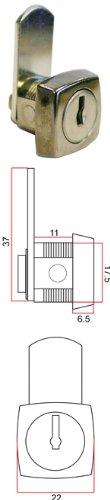 lf-1363-cam-lock-11mm