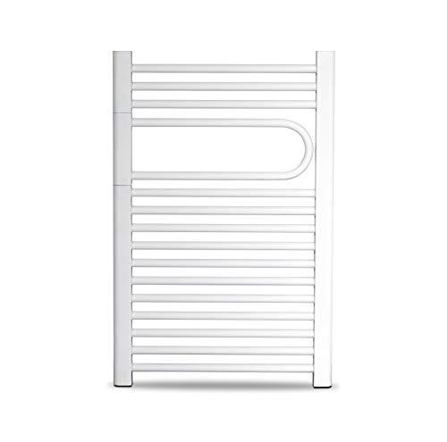 Cicsa Radiador Eléctrico Secatoallas Flag Dry * Toalleros Eléctricos (Medidas 700 x 500 mm) 250 Watios * Secatoallas En Color Blanco * 2 AÑOS de Garantía