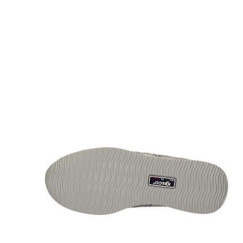Femmes Chaussures basses acciaio/argento argenté, (acciaio/argento) 7774500 Acciaio