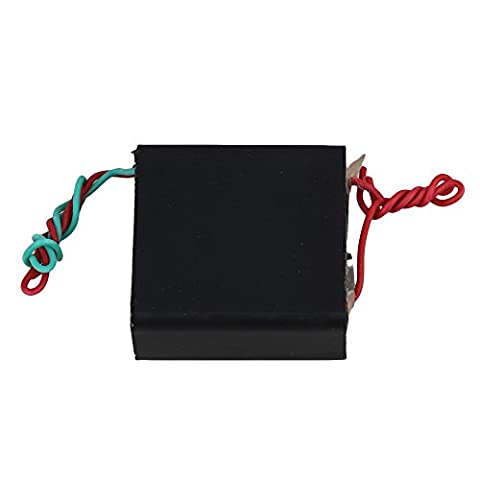 BQLZR Black DC3.6-7V to 800KV Square Boost Step-up Power Module Ultra-high Voltage Pulse Generator Board Ignition Coil