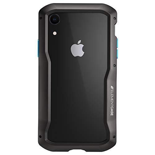 Element Case EMT-322-193D-01 Vapor-S Schutzhülle für iPhone XR, Schwarz Vapor Element Iphone