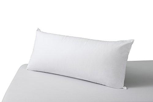 SAVEL, Almohada Antiácaros con Tejido 100% algodón, Firmeza Media, 150x40cm
