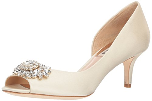 Badgley Mischka Damen Macie, elfenbeinfarben, 37 EU Badgley Mischka Bridal