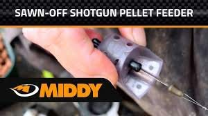 Middy Tackle Swan Off Shotgun Pellet Feeder Large 30g
