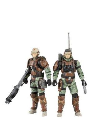 McFarlane Toys Halo Reach Series 3UNSC Trooper Personnel de soutien–Medic Trooper et radio Trooper Lot de 2