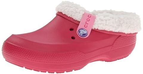 crocs Blitzen II Clog 14461-6H6, Unisex-Erwachsene Clogs & Pantoletten, Pink (Raspberry/Oatmeal 6H6), EU
