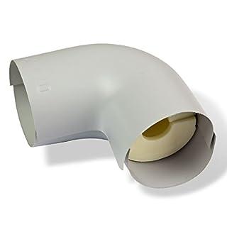 NMC PU-R Rohrisolierung ISOTUBE035 Bogen 22x20 mm 100% EnEV-konform Winkel Rohrdämmung Rohrisolation Heizung