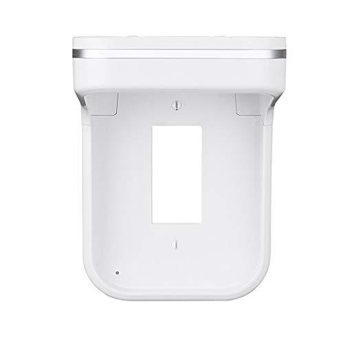 (TIREOW Home Office Wall Power Ladestation Regal LED Outlet Abdeckung Lagerregal für Frauen Männer Unisex (B))