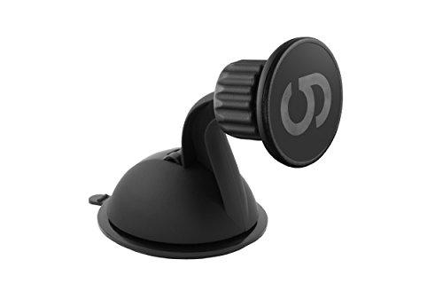 grooveclip Dash MagnetHandy-Halterung, Magnetisch für Armaturenbrett/Windschutzscheibe, universell, mit Steckmechanismus, Gerät ist in Sekunden montiert, mit super starkem Saugnapf mit Gelpolster, für Smartphones/Handys/Navigationsgeräte (Die Handy-halterung Für Windschutzscheibe)