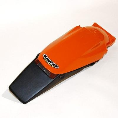 guardab arros trasero UFO Enduro con piloto kt03043 – 127 Color Naranja