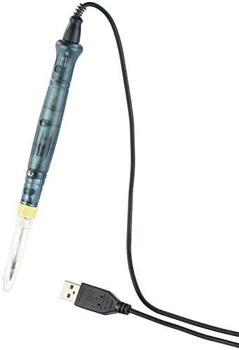 AGT Feinlötkolben: USB-Lötkolben mit Keramik-Lötspitze, 450 °C, 8 Watt (Mini Lötkolben)