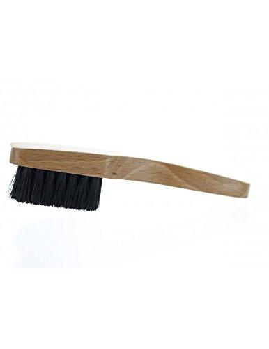 Alta Leder–Bürste Leder–Kleine Bürste für reinigen Lederpflege, durchsichtig, Petite