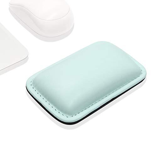 Proelife Office/Home PU poggiapolso mouse pad tappetino interno morbido in memory foam per Apple Magic mouse Microsoft Surface mouse e la maggior parte dei wireless Wired mouse, durevole/antiscivolo