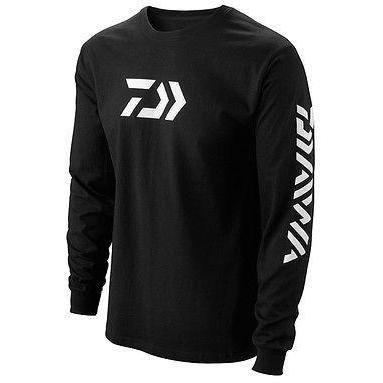 Daiwa 64052105 Vector Print Longsleeve T-Shirt, Schwarz, XX-Large