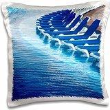 Resorts - Resort pool, Playa Del Carmen, Cancun, Mexico 16x16 inch Pillow Case