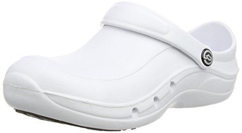 Toffeln Eziprotekta 845, Chaussures de sécurité mixte adulte Blanc - Blanc