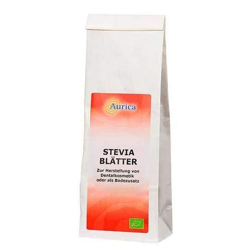 STEVIA BLÄTTER geschnitten 100 g - Stevia Blatt Pulver