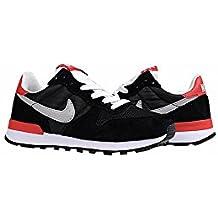 Poco Kid Internationalist moda Zapatillas zapatos negro/gris/rojo, Niños, Black/Grey/Red, UK3=EUR35=23CM