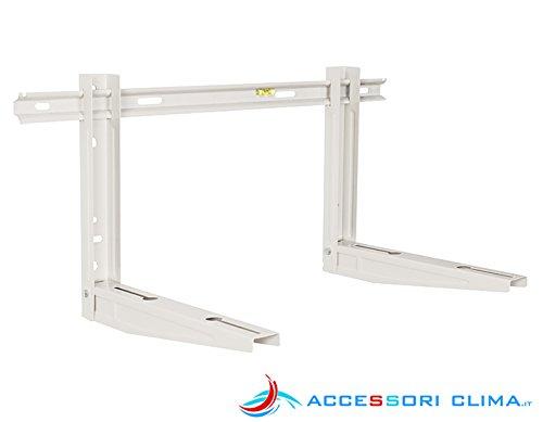 Staffe per condizionatori premontate 450x400x800 mm 90 kg
