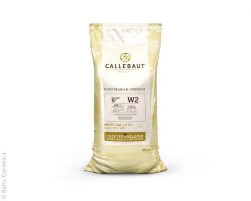 Callebaut gocce di cioccolato bianco (Callets) 10kg