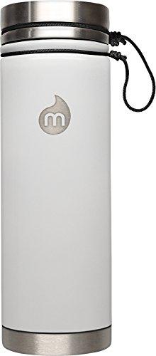 M12 - ST Trinkflasche Grey LE w. Black l Glossy White LE