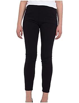 [Sponsorizzato]Abbino 7155 Pantaloni Donne Ragazze - Made in Italy - 3 Colori - Pant Primavera Estate Autunno Inverno Slim Fit...