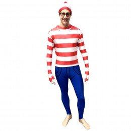 Waar Is Wally–Breite Fancy (Est Charlie Kostüm Ou)