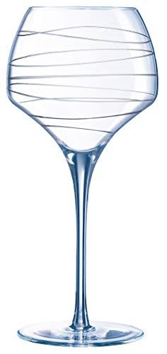 Chef&Sommelier H3996 Verre à Pied Open Up Arabesque, 55 cl, en cristallin, Transparent
