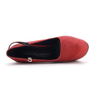 Moda donna sexy personalizzate sandali donna tacchi Primavera / Estate / Autunno / Inverno piattaforma / cinturino alla caviglia GlitterWedding / Esterni / Ufficio & Carriera / Party & Sera Black