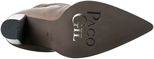 Paco Gil P3144, Bottines à doublure froide femme Gris - Grau (fossil/Cenit)